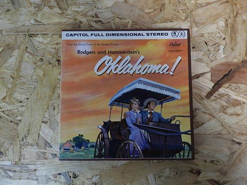 <再生確認済み>「 OKLAHOMA! / SOUNDTRACK 」 オープンリール 7号 ミュージック テープ
