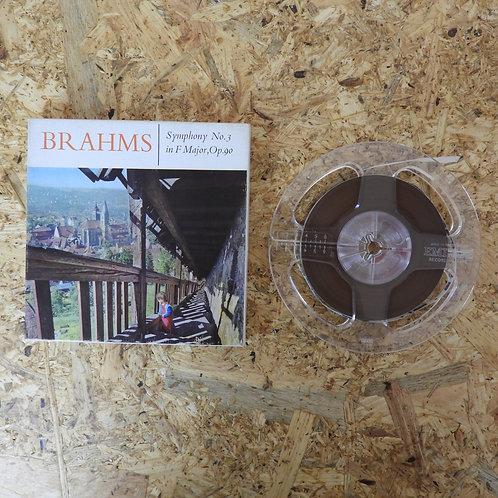 <再生確認済み>「 SYMPHONY NO.3 IN F MAJOR OP.90 / BRAHMS 」 オープンリール 5号 ミュージック テープ MONO