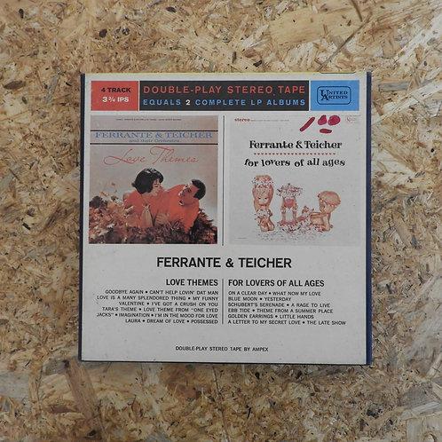 <再生確認済み>「 FERRANTE & TEICHER / CONCERT FOR LOVERS OF ALL AGES 」 オープンリール 7号 ミュージッ