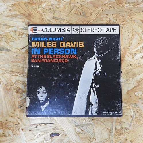 <再生確認済み>「 MILES DAVIS IN PERSON FRIDAY NIGHT AT THE BLACKHAWK 」 マイルス ・ デイヴィス オープ