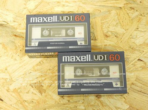 カセットテープ maxell UDI 60 (2パック×2)