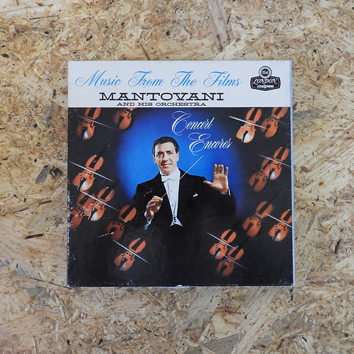 <再生確認済み>「 MUSIC FROM THE FILMS : CONCERT ENCORES / MANTOVANI 」 マントヴァーニ オープンリール 7