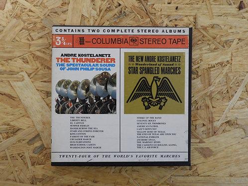 <再生確認済み>「TWENTY-FOUR OF THE WORLD'S FAVORITE MARCHES 」 オープンリール 7号 ミュージック テープ