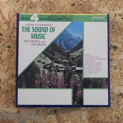 <再生確認済み>「 THE SOUND OF MUSIC / TED HEATH 」 オープンリール 7号 ミュージック テープ