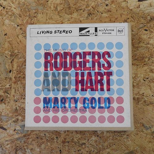 <再生確認済み>「 THE MUSIC OF RODGERS AND HART / MARTY GOLD 」 オープンリール 7号 ミュージック テープ