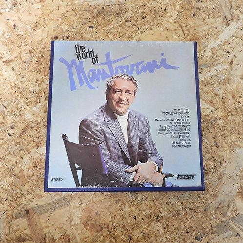 <再生確認済み>「 THE WORLD OF MANTOVANI 」 オープンリール 7号 ミュージック テープ