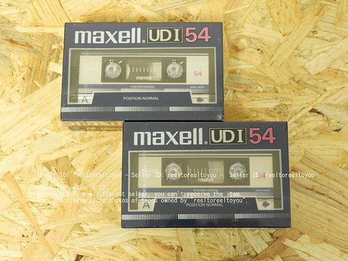 カセットテープ maxell UDI 54 4本(2パック×2)