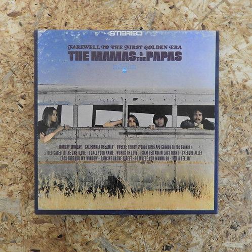 <訳あり品>「 FAREWELL TO THE FIRST GOLDEN ERA THE MAMAS & THE PAPAS 」 オープンリール 7号 テープ