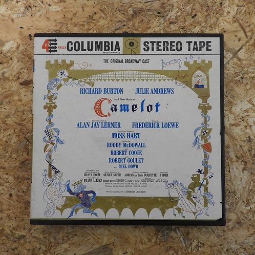 <再生確認済み>「 CAMELOT : THE ORIGINAL BROADWAY CAST 」 オープンリール 7号 ミュージック テープ