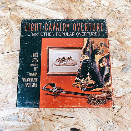 <再生確認済み>「 LIGHT CAVALRY & OTHER OVERTURE / HORST STEIN 」 オープンリール 7号 ミュージック テープ