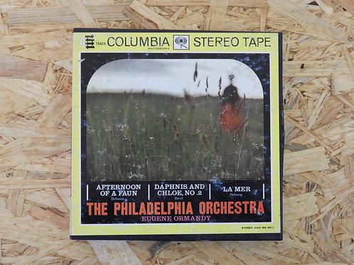 <再生確認済み>「 THE PHLADELPHIA ORCHESTRA / EUGENE ORMANDY 」 オープンリール 7号 ミュージック テープ