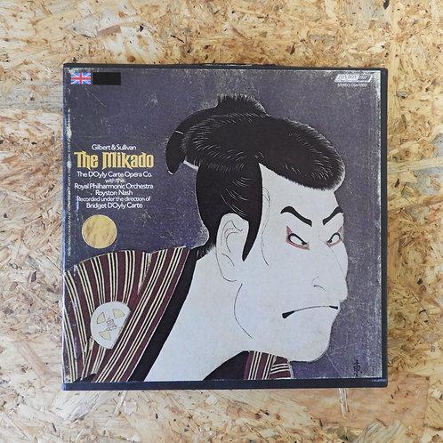 <再生確認済み>「 THE MIKADO / GILBERT AND SULLIVAN 」 オープンリール 7号 ミュージック テープ