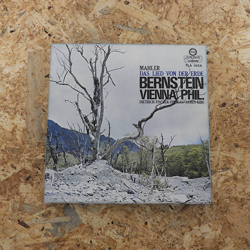 <再生確認済み>「 マーラー:交響曲〈大地の歌〉 / レナード・バーンスタイン 」 オープンリール 7号 ミュージック テープ