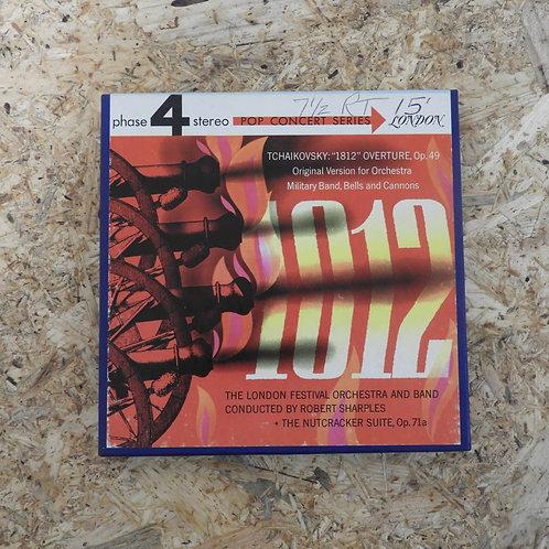 <再生確認済み>「 TCHAIKOVSKY : 1812 OVERTURE / LONDON FESTIVAL ORCH. 」 オープンリール 7号 ミュージッ