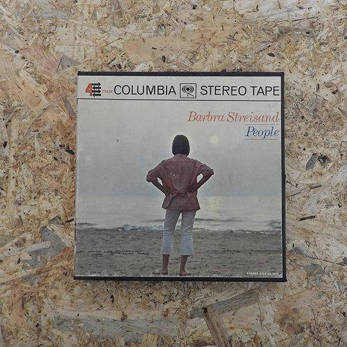 <再生確認済み>「 PEOPLE / BARBRA STREISAND 」 オープンリール 7号 ミュージック テープ