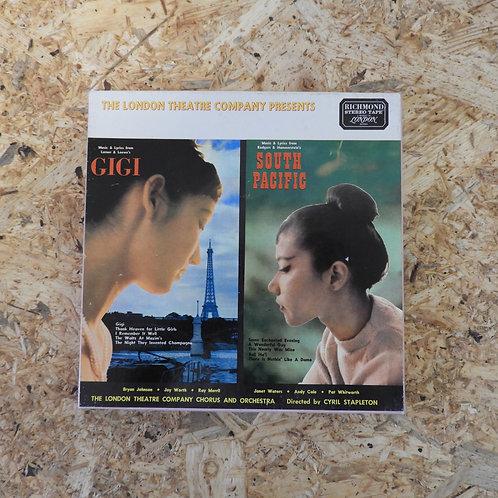 <再生確認済み>「 GIGI / SOUTH PACIFIC 」 オープンリール 7号 ミュージック テープ