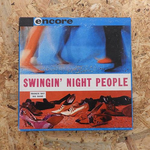 <再生確認済み>「 SWINGIN' NIGHT PEOPLE 」 オープンリール 7号 ミュージック テープ