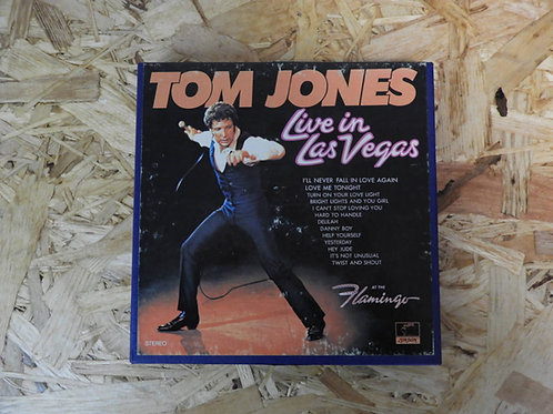 <再生確認済み>「 TOM JONES / LIVE IN LAS VEGAS 」 オープンリール 7号 ミュージック テープ