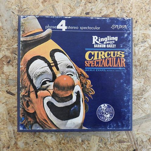 <再生確認済み>「 CIRCUS SPECTACULAR / MERLE EVANS MUSICAL DIRECTOR 」 オープンリール 7号 ミュージック
