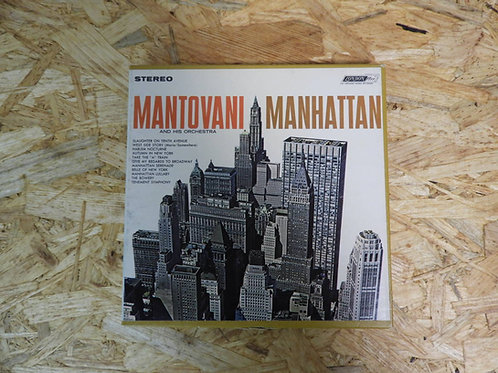 <再生確認済み>「 MANTOVANI / MANHATTAN 」 マントヴァーニ オープンリール 7号 ミュージック テープ