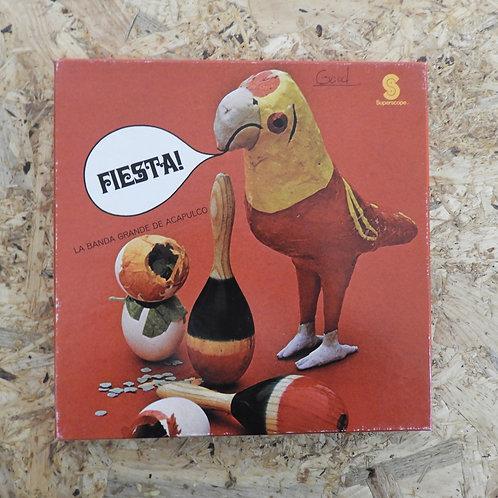 <再生確認済み>「 FIESTA! / LA BANDA GRANDE DE ACAPULCO 」 オープンリール 7号 ミュージック テープ
