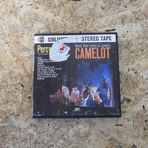 <再生確認済み>「 CAMELOT / PERCY FAITH 」 オープンリール 7号 ミュージック テープ