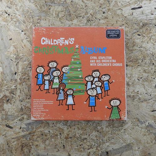 <再生確認済み>「 CHILDREN'S CHRISTMAS ALBUM / CYRIL STAPLETON 」 オープンリール 7号 ミュージック テープ