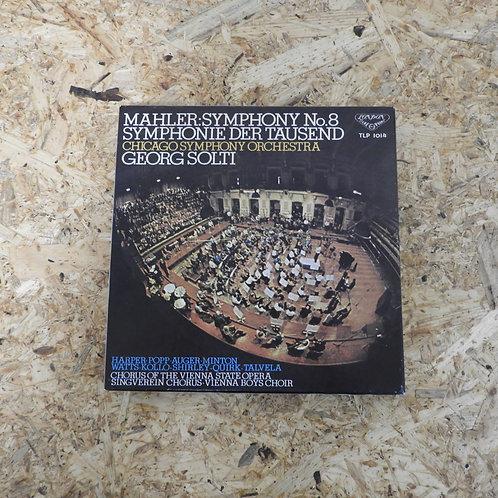 <再生確認済み>「 マーラー:交響曲第8番 〈千人の交響曲〉/ サー・ゲオルグ・ショルティ 」 オープンリール 7号 ミュージック テープ
