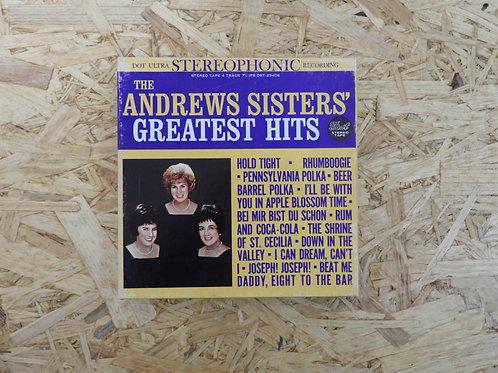 <再生確認済み>「 THE ANDREWS SISTERS GREATEST HITS / ANDREWS SISTERS 」 オープンリール 7号 ミュージッ