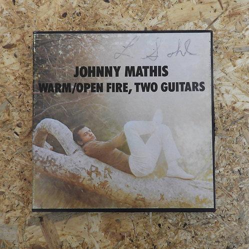 <再生確認済み>「 JOHNNY MATHIS / WARM : OPEN FIRE, TWO GUITARS 」 オープンリール 7号 ミュージック テープ