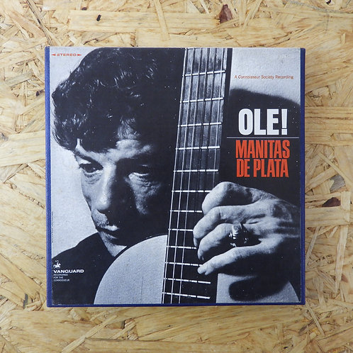 <再生確認済み>「 OLE! / MANITAS DE PLATA 」 オープンリール 7号 ミュージック テープ