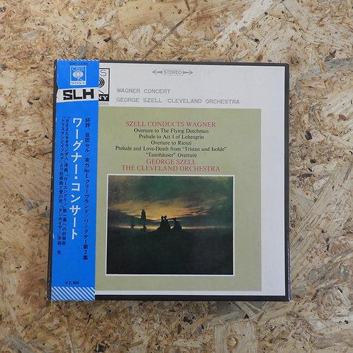 <再生確認済み>「 ワーグナー ・ コンサート 」 オープンリール 7号 ミュージック テープ