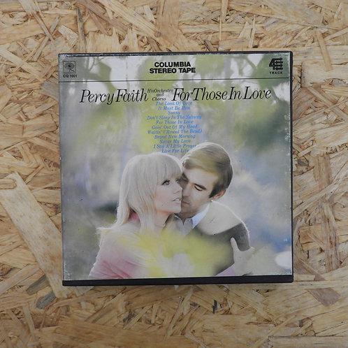 <再生確認済み>「 PERCY FAITH / FOR THOSE IN LOVE 」 オープンリール 7号 ミュージック テープ
