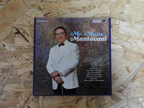 <再生確認済み> 「 Mr. MUSIC... / MANTOVANI 」 マントヴァーニ オープンリール 7号 ミュージック テープ