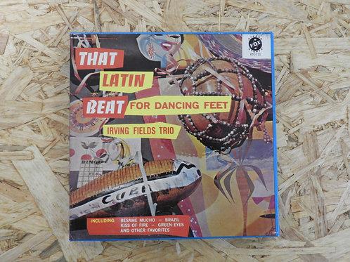 <再生確認済み>「 THAT LATIN BEAT FOR DANCING FEET / LRVING FIELDS TRIO 」 オープンリール 7号 ミュー