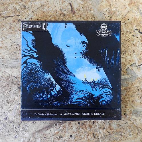 <再生確認済み>「 A MIDSUMMER NIGHT`S DREAM / SHAKESPEARE 」 オープンリール 7号 ミュージック テープ