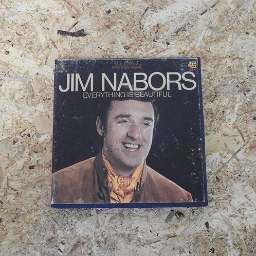 <再生確認済み>「 EVERYTHING IS BEAUTIFUL / JIM NABORS 」 オープンリール 7号 ミュージック テープ