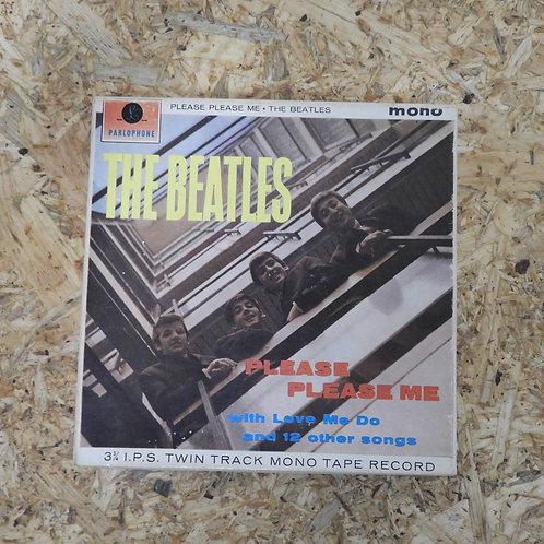 <再生確認済み>「 PLEASE PLEASE ME / THE BEATLES 」 ビートルズ オープンリール 5号 ミュージック テープ MONO