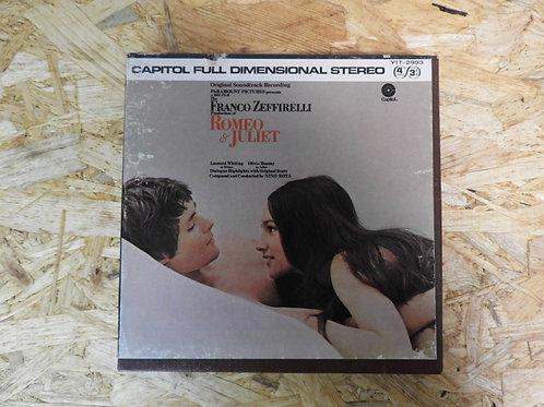 <再生確認済み>「 ROMEO & JULIET / ORIGINAL SOUNDTRACK RECORDING 」 オープンリール 7号 ミュージック テープ