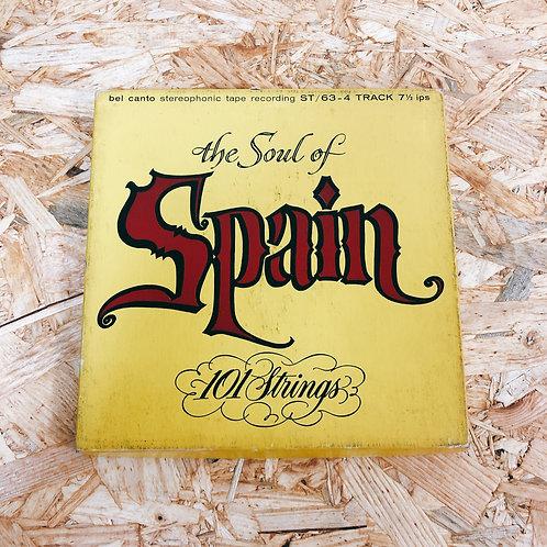 <再生確認済み>「 THE SOUL OF SPAIN 」 オープンリール 7号 ミュージック テープ