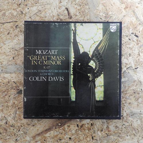 <再生確認済み>「 MOZART GREAT MASS IN C MINOR K427 」 オープンリール 7号 ミュージック テープ