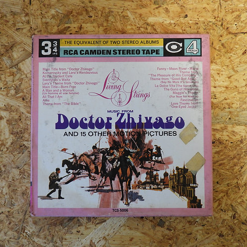 <再生確認済み>「 LIVING STRINGS / DOCTOR ZHIVAGO AND 15 OTHER MOTION PICTURES 」 オープンリール