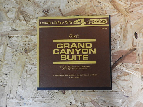 <再生確認済み>「 GROFE - GRAND CANYON SUITE 」 オープンリール 7号 ミュージック テープ