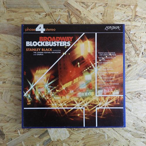 <再生確認済み>「 BROADWAY BLOCKBUSTERS / STANLEY BLACK 」 オープンリール 7号 ミュージック テープ