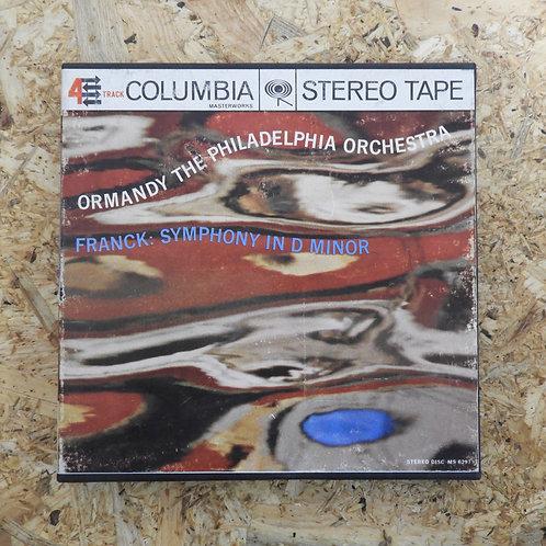 <再生確認済み>「 FRANCK: SYMPHONY IN D MINOR 」 オープンリール 7号 ミュージック テープ