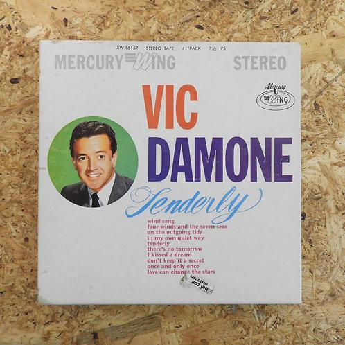 <再生確認済み>「 TENDERLY / VIC DAMONE 」 オープンリール 7号 ミュージック テープ
