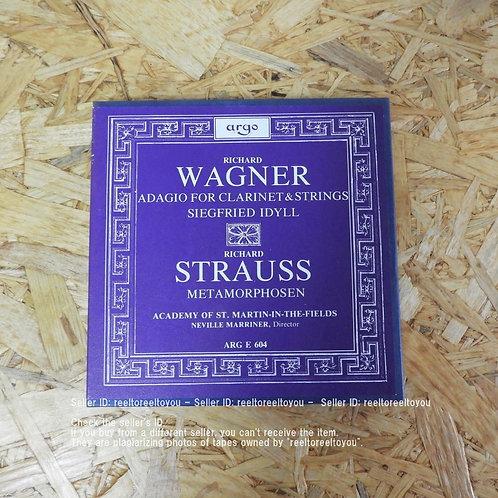 WAGNER : ADAGIO, SIEGFRIED IDYLL / NEVILLE MARRINER