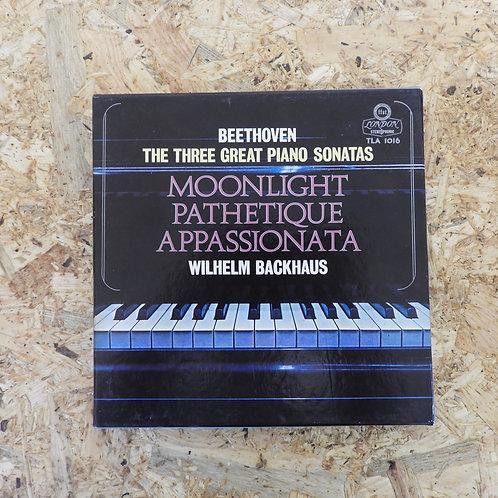 <再生確認済み>「 3大ピアノ奏鳴曲 / ベートーヴェン 」 オープンリール 7号 ミュージック テープ
