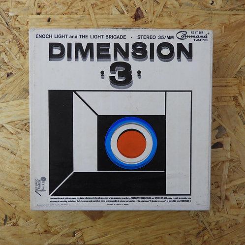 <再生確認済み>「 DIMENSION ・3・ 」 オープンリール 7号 ミュージック テープ