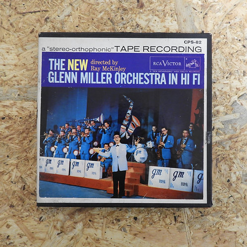 <再生確認済み>「 THE NEW GLENN MILLER ORCHESTRA IN HI-FI 」 オープンリール 7号 ミュージック テープ